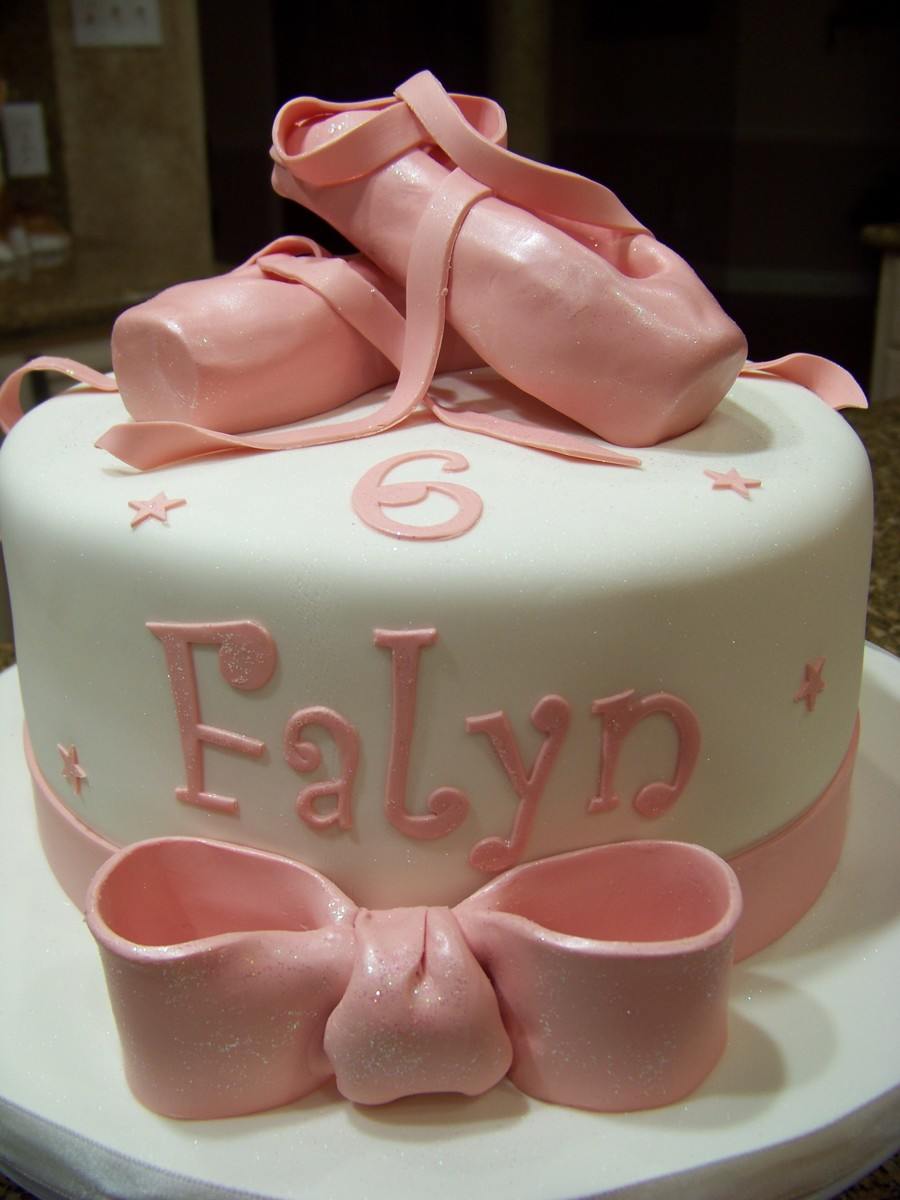 Little Ballerina Cake on Cake Central