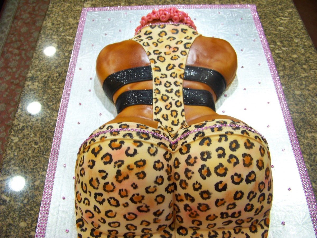 Ass Birthday Cake