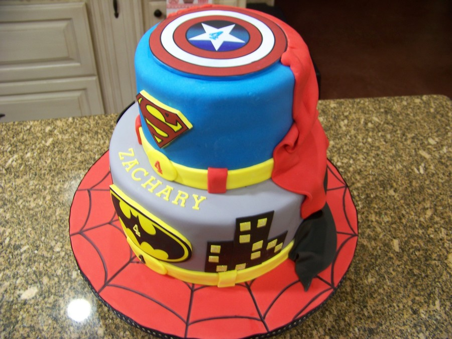 Superhero Cake Recipe