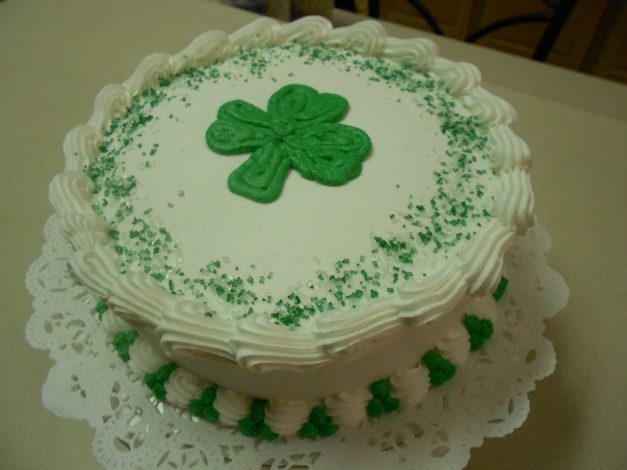 St. Patty's Day  on Cake Central