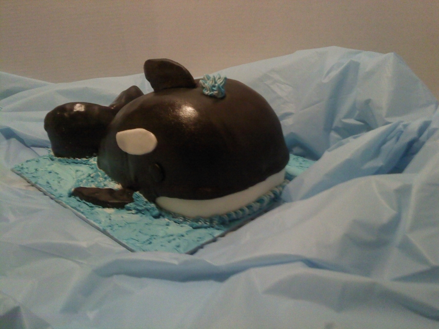 Orca Whale on Cake Central
