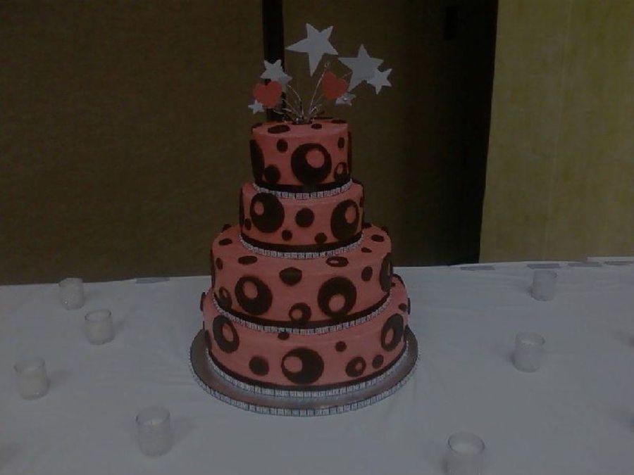 Bling Bling Wedding Cake On Cake Central