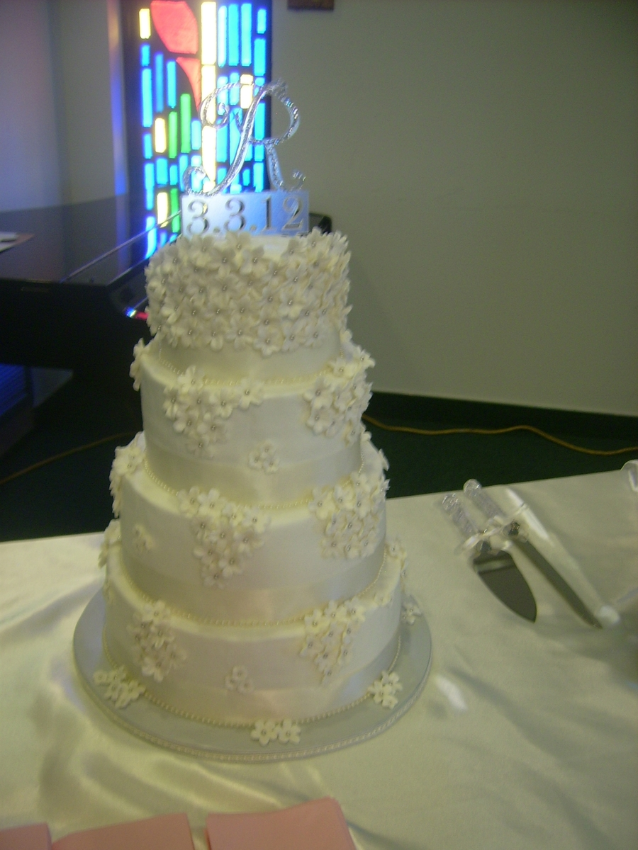 Wedding Dress Cake  on Cake Central