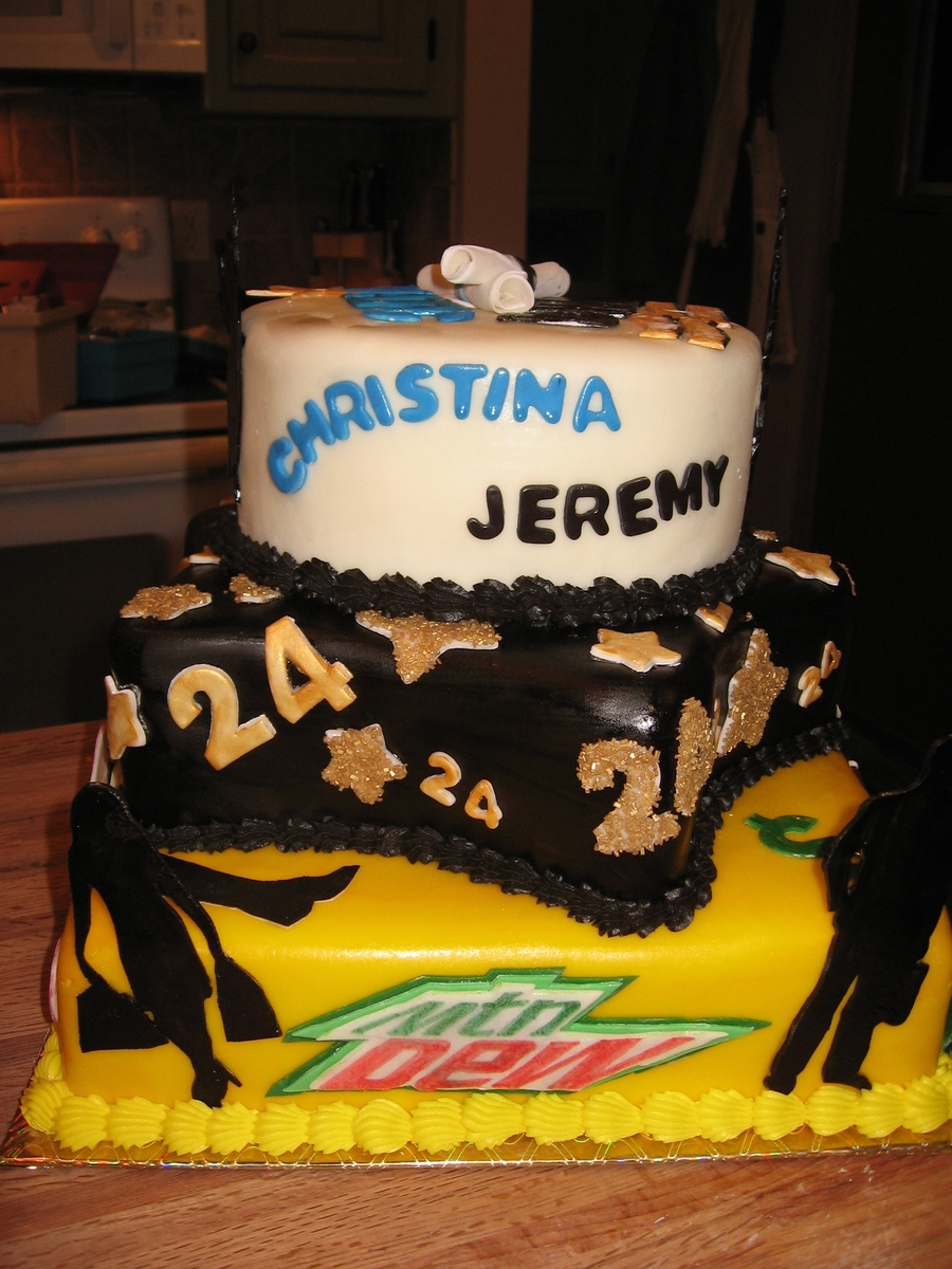 Awesome Graduation Birthday Cakecentral Com Personalised Birthday Cards Akebfashionlily Jamesorg