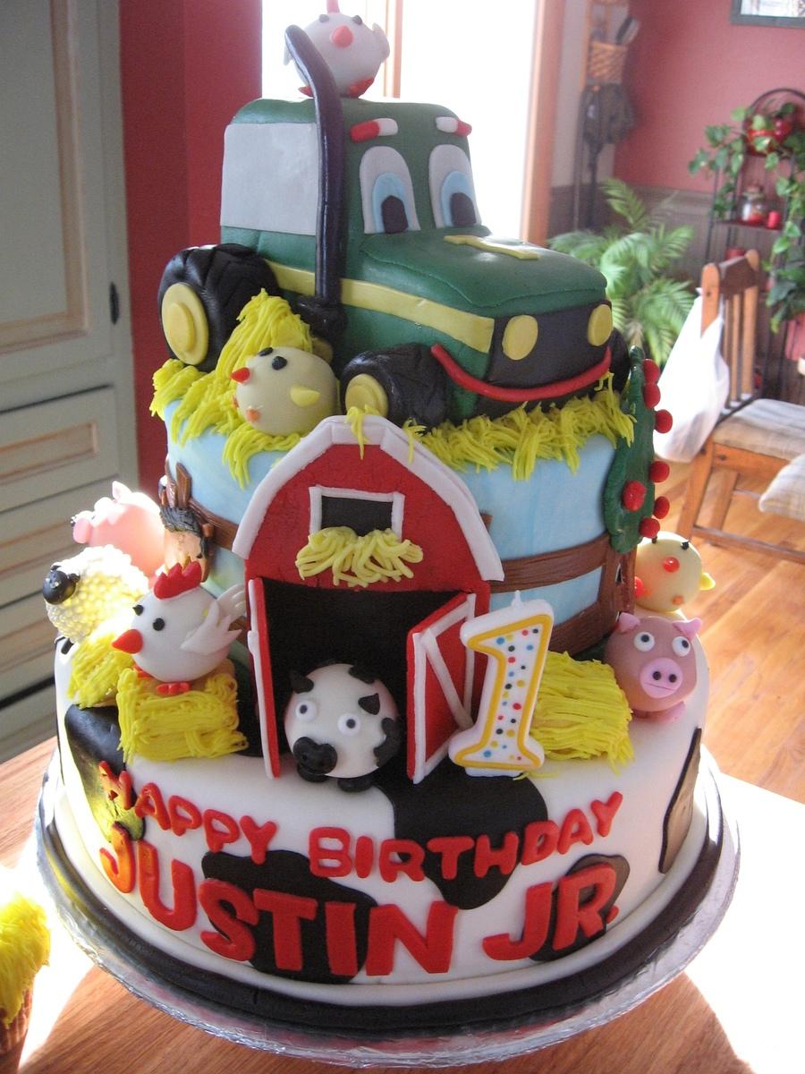 John Deerefarm Birthday Cake Cakecentral