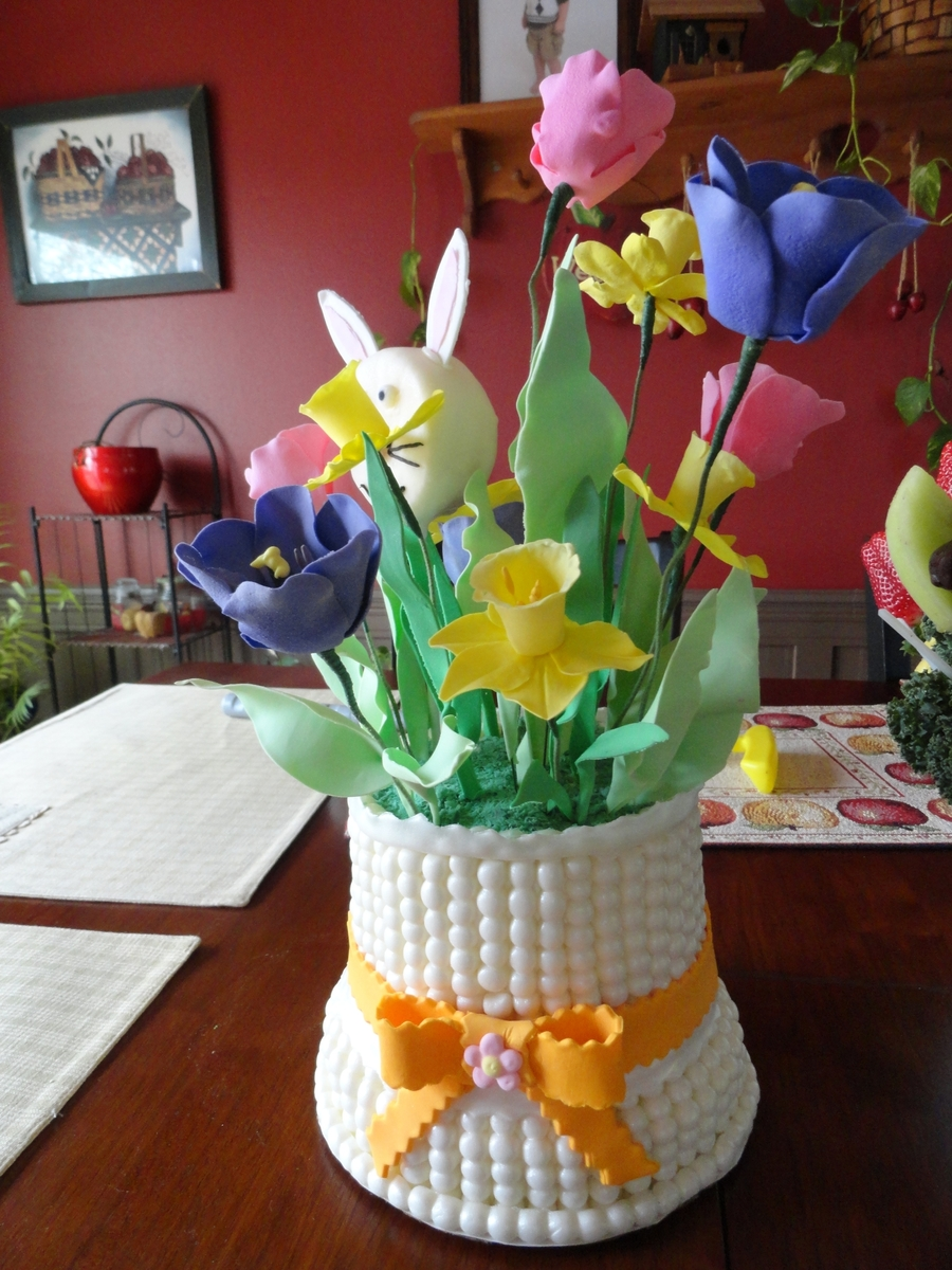 Easter Bouquet on Cake Central