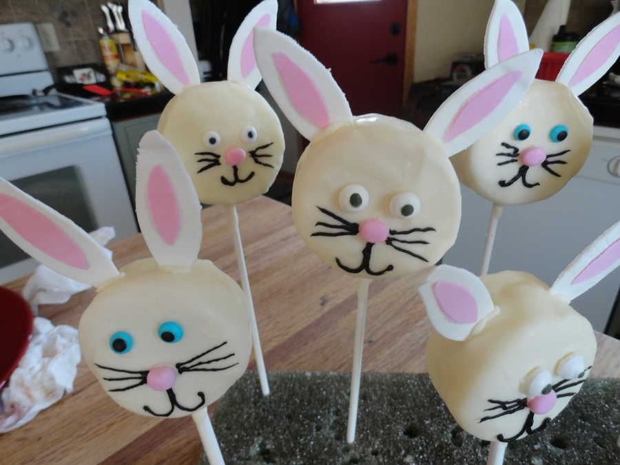 Bunny Pops on Cake Central