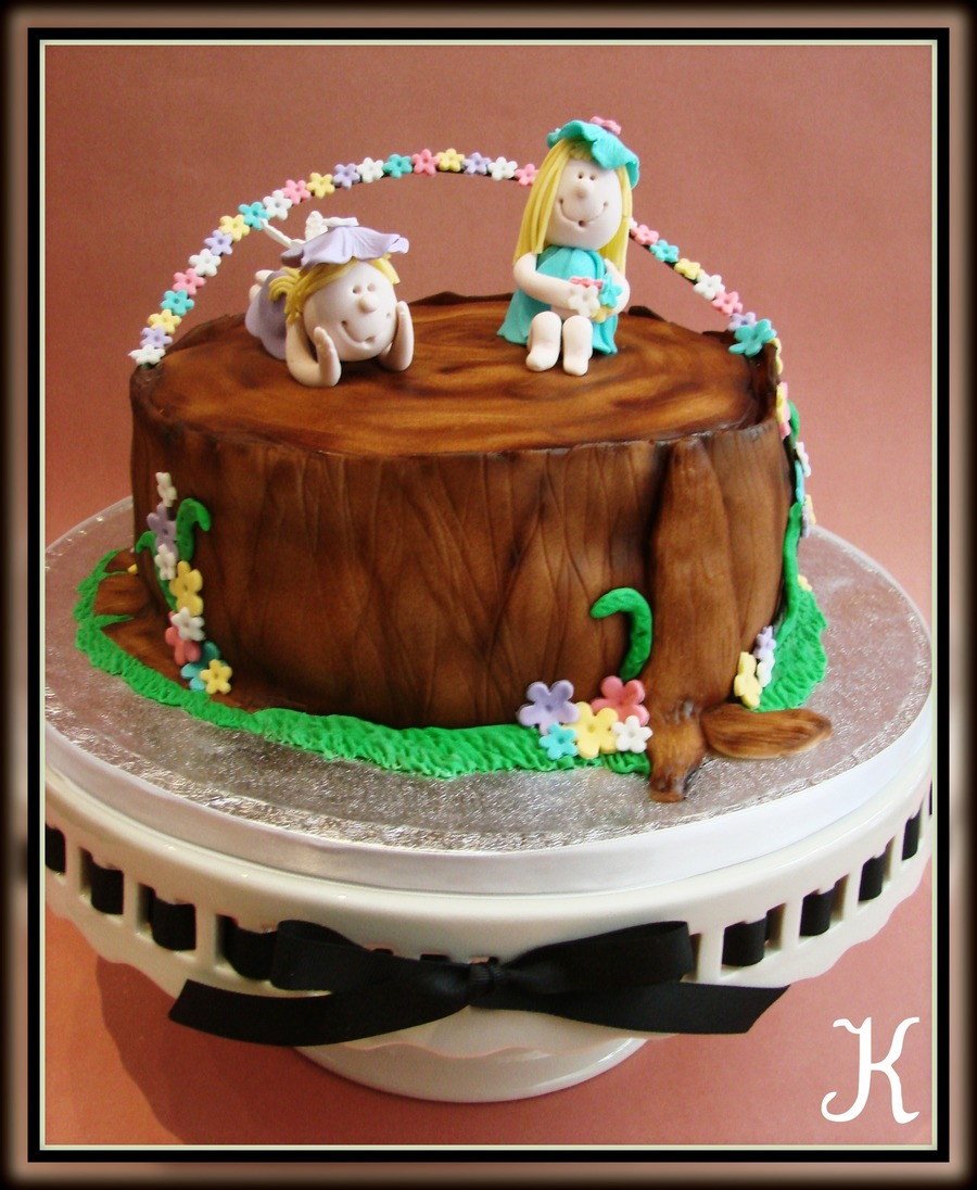 Flower Fairies on Cake Central