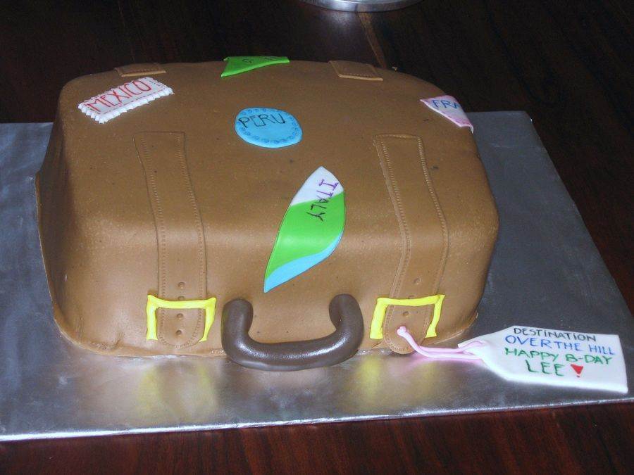 Suitcase Cake on Cake Central