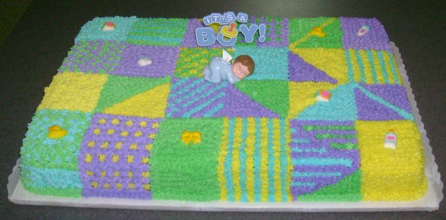 Patchwork Quilt Cake Decorating