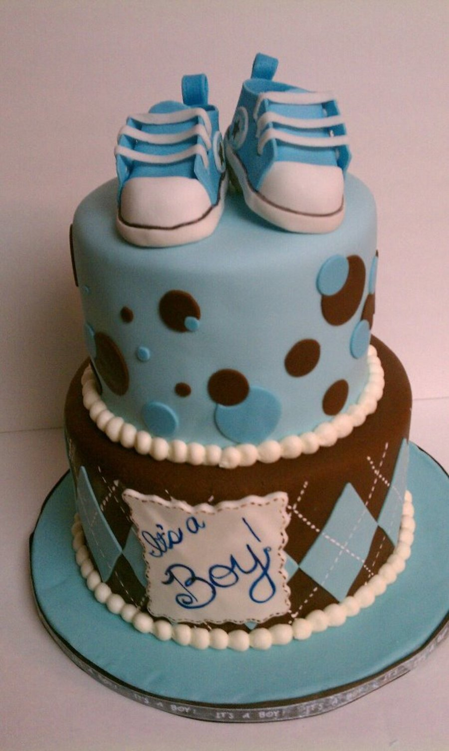 Preppy Baby Shower on Cake Central
