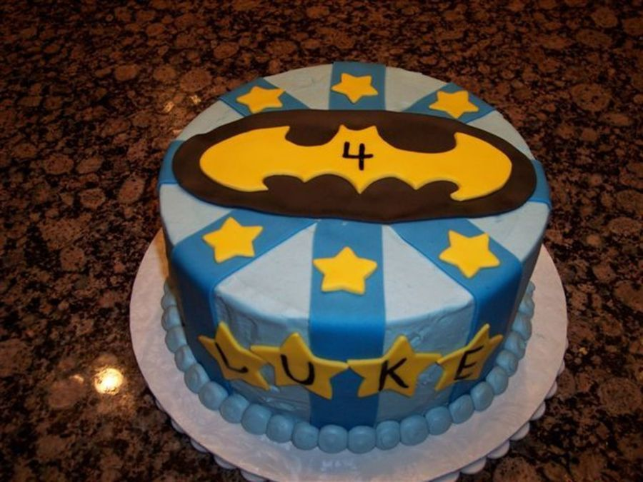 Holy Batman Luke Is 4 on Cake Central