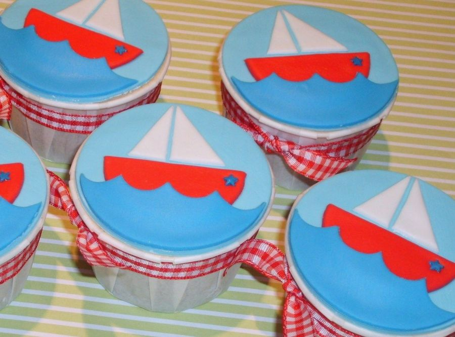 ~Sailboats For Silas~  on Cake Central