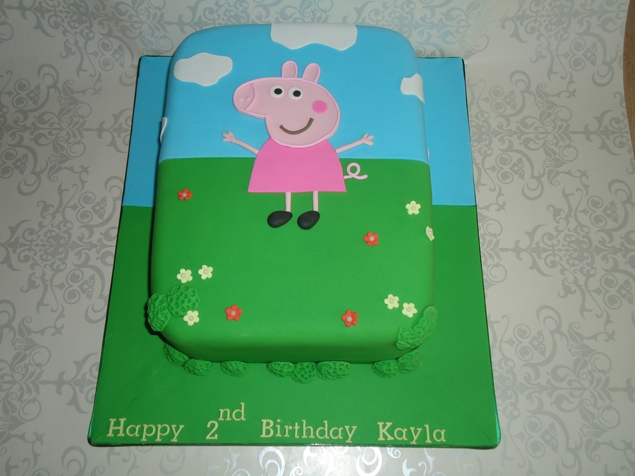 Peppa Pig. on Cake Central