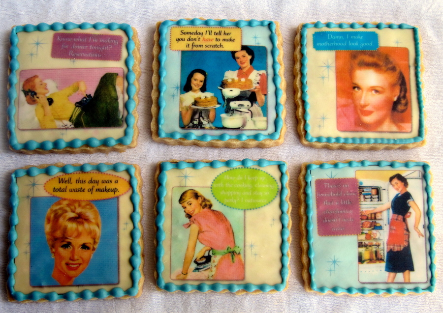 Desperate Housewives Cookies. on Cake Central