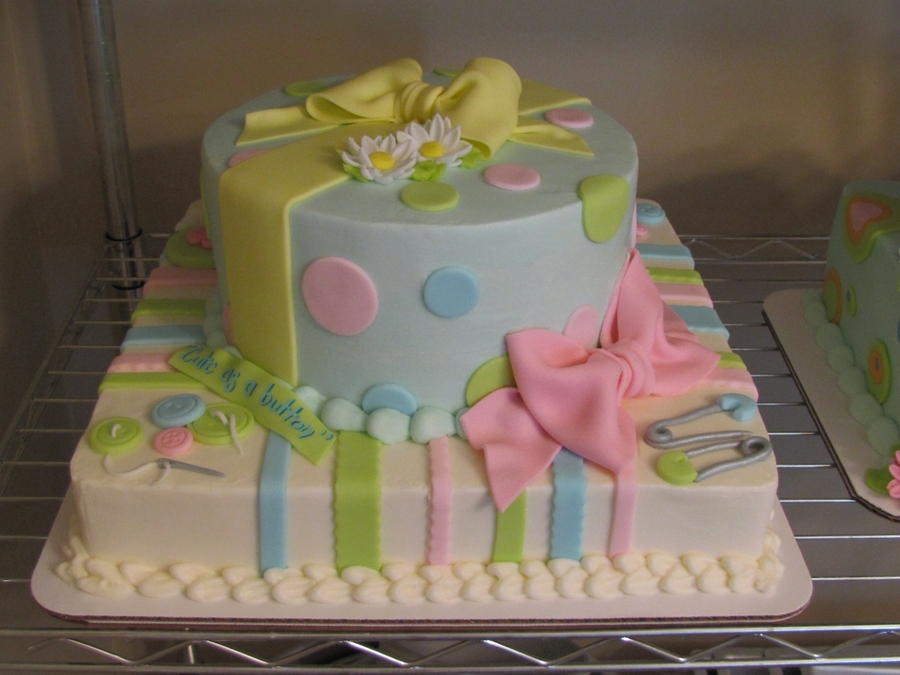 Baby Reveal Cake on Cake Central