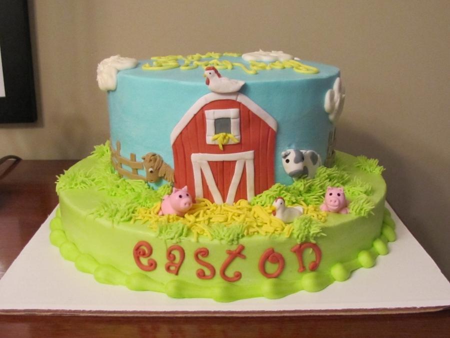 Swell Barnyard Birthday Cakecentral Com Funny Birthday Cards Online Inifodamsfinfo