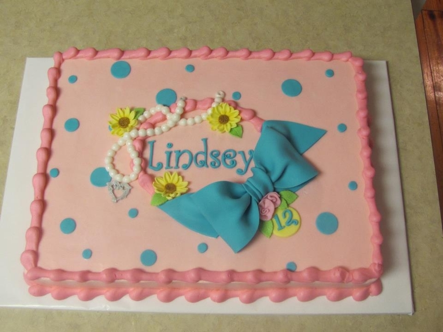 Lindsey's Birthday on Cake Central