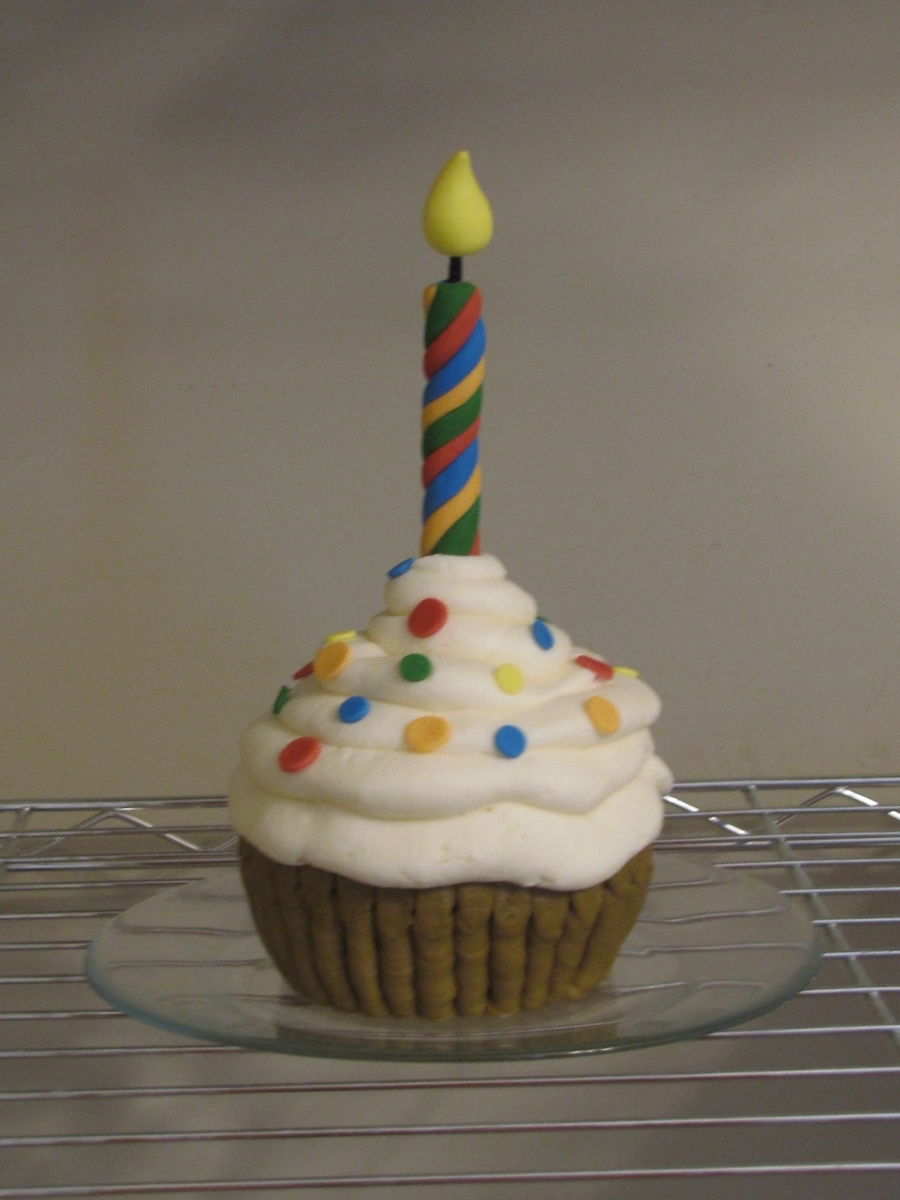 1St Birthday Smash Cupcake  on Cake Central
