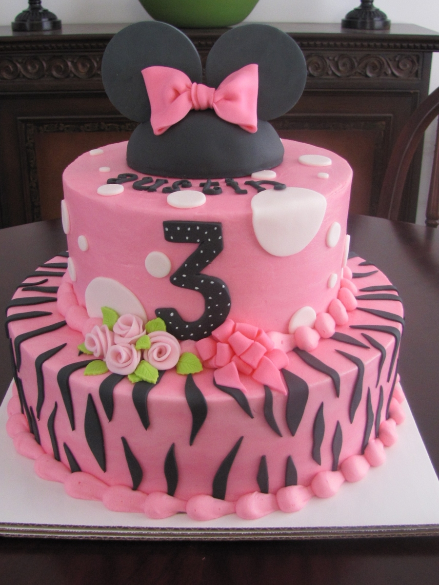 Minnie Mouse Birthday on Cake Central