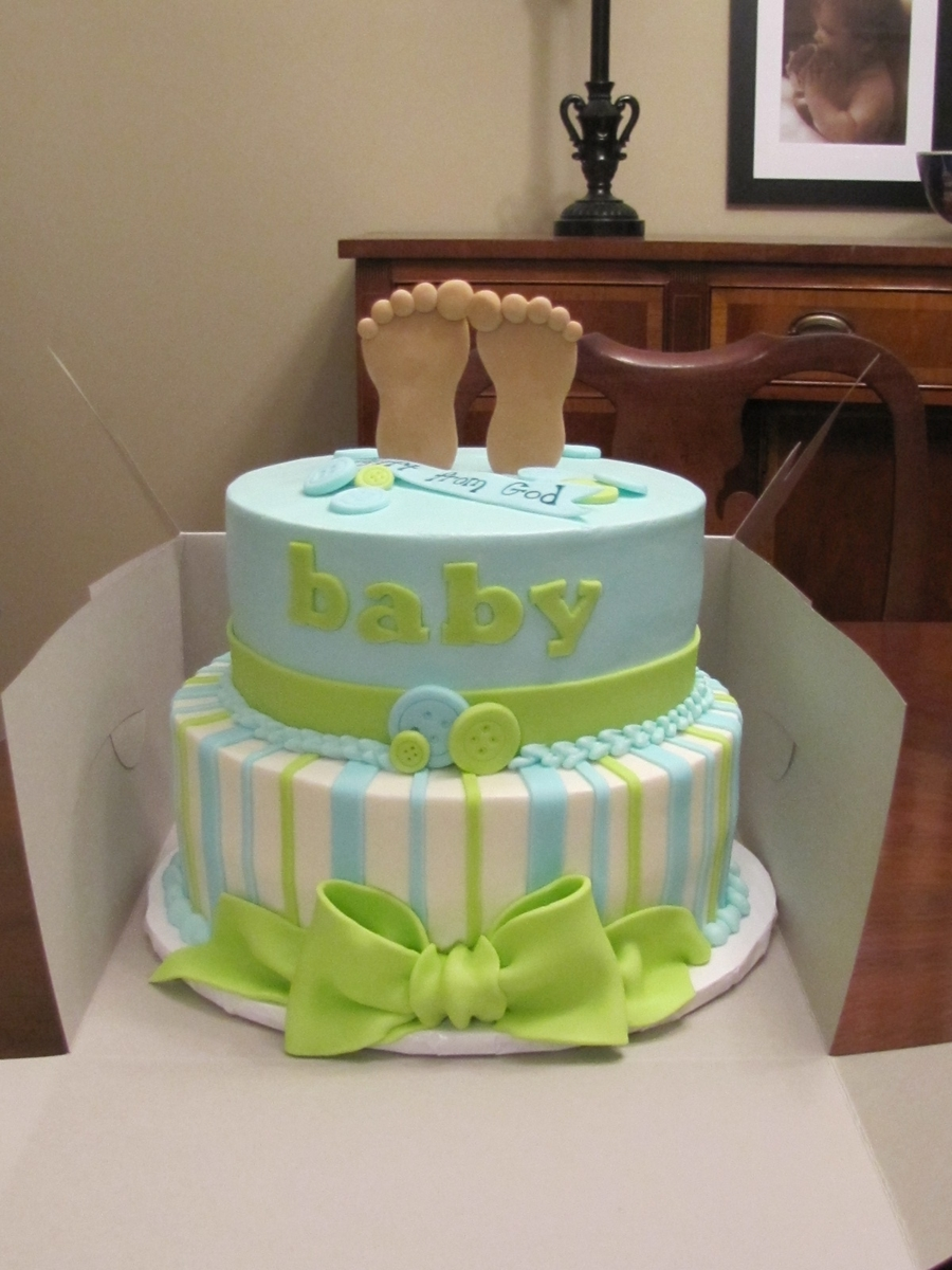Baby Feet on Cake Central