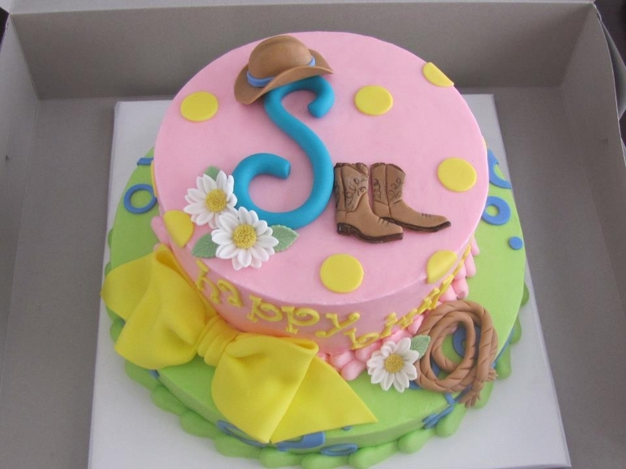 Savannah's Western Party on Cake Central