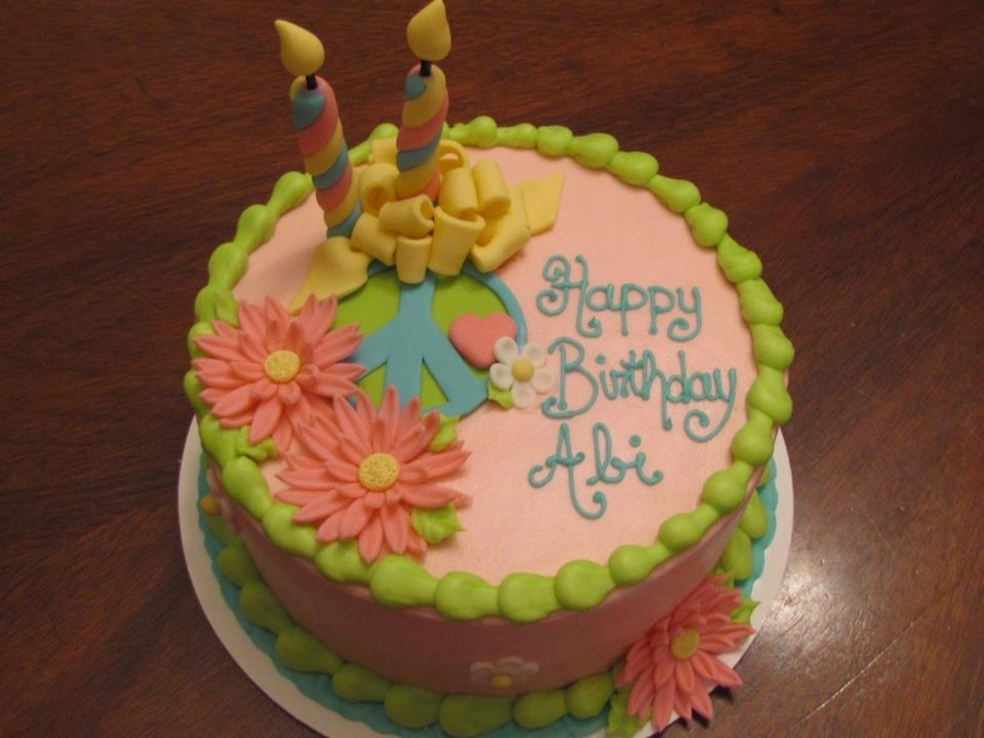 A Special Cake For Abi on Cake Central