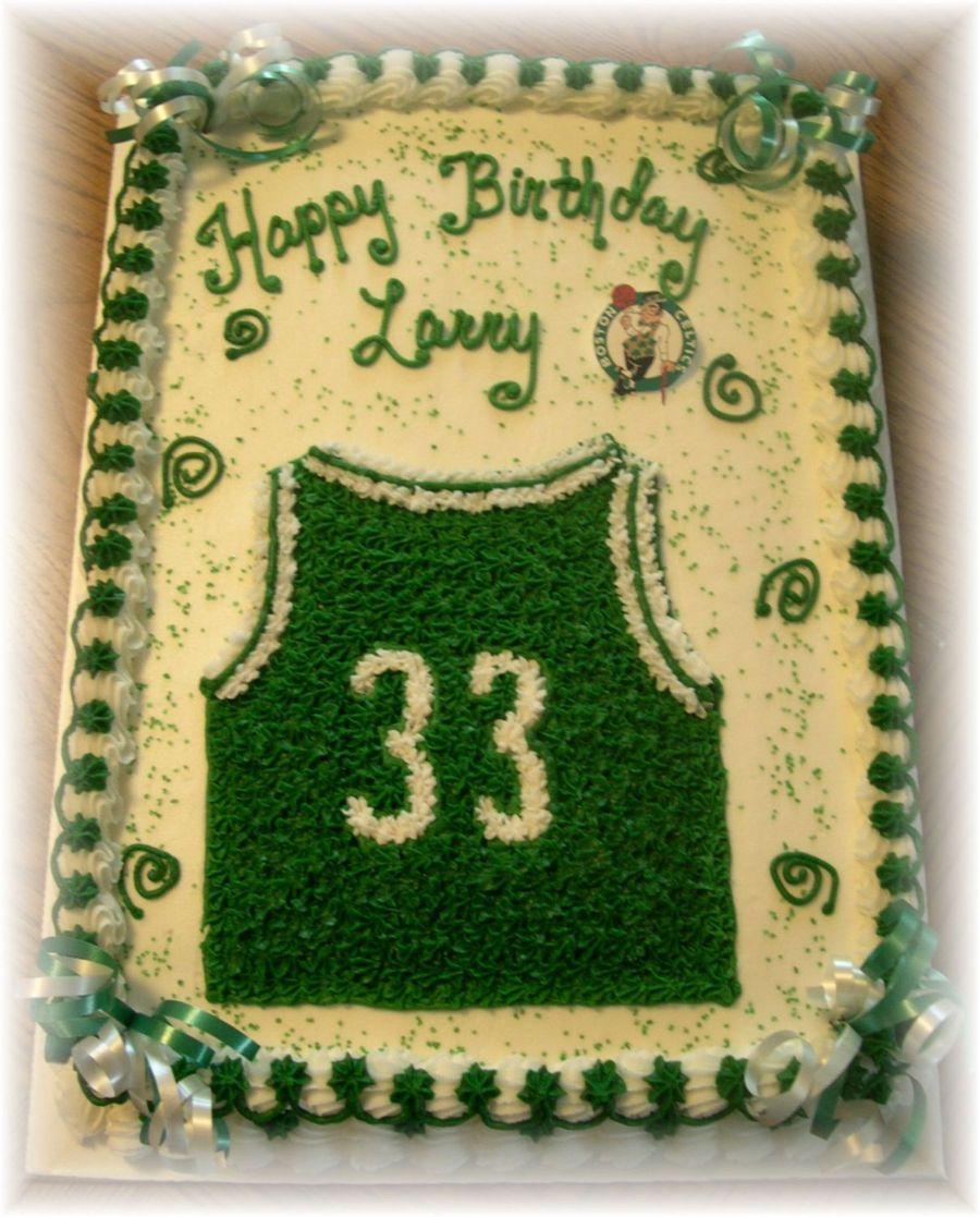 Boston Celtics Birthday Cake On Central