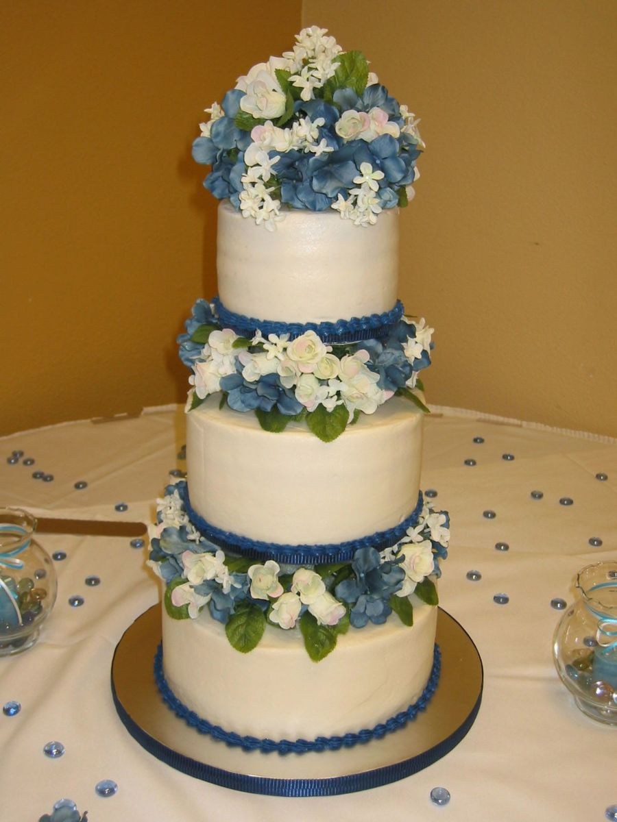 45Th Wedding Anniversary Cake On Central