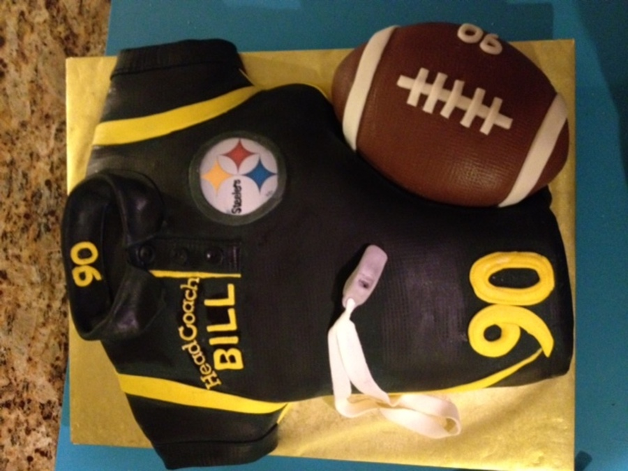 For Bill Aka Head Coach And A Steelers Fan Turning 90 on Cake Central