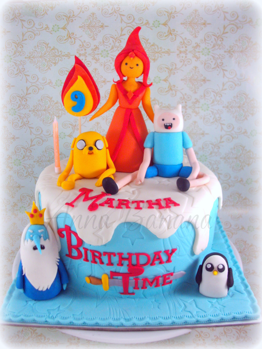 It's Adventure Time! on Cake Central