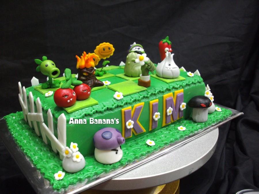 Peashooter Cake