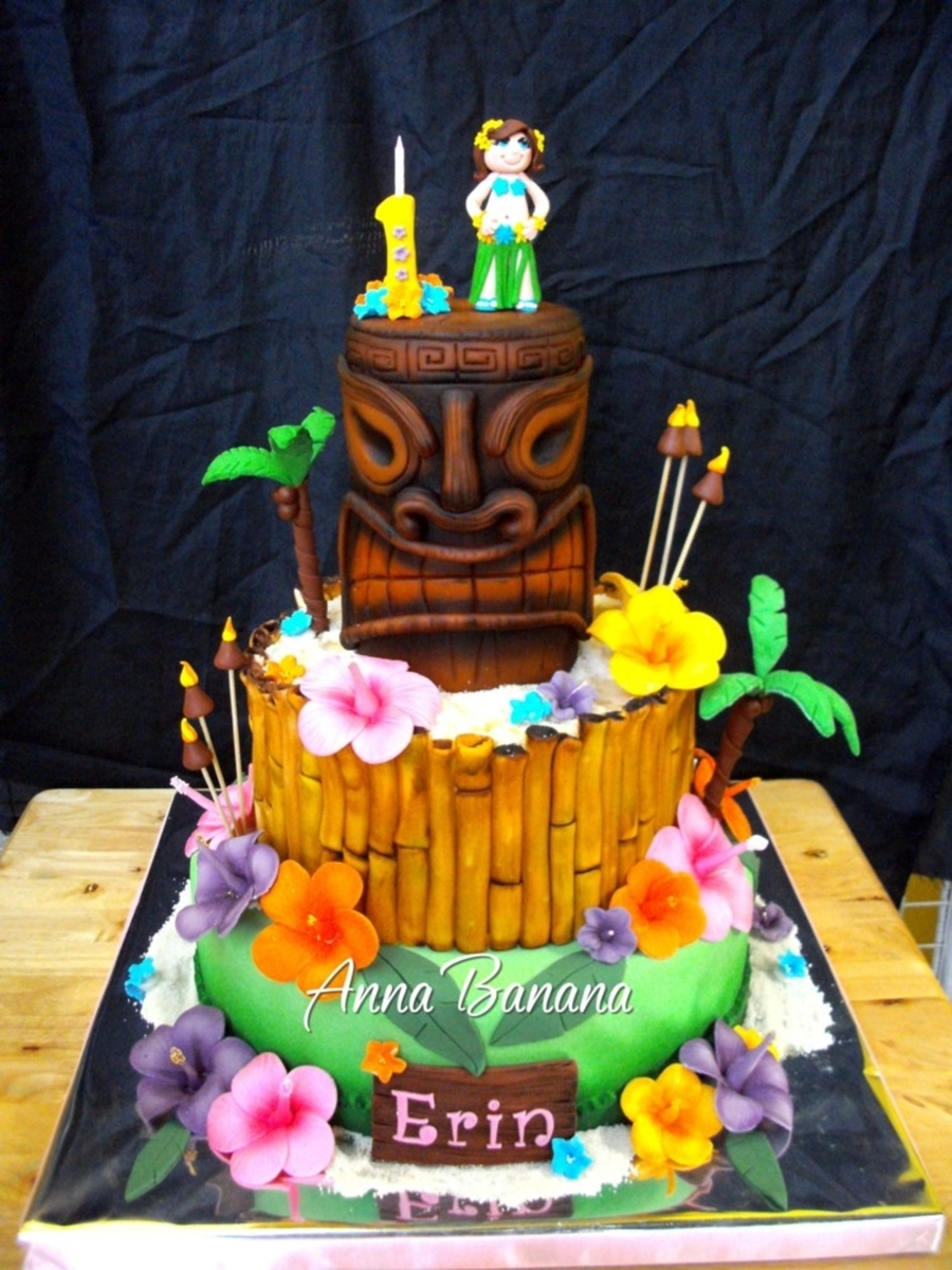 Tiki Party Cake Ideas