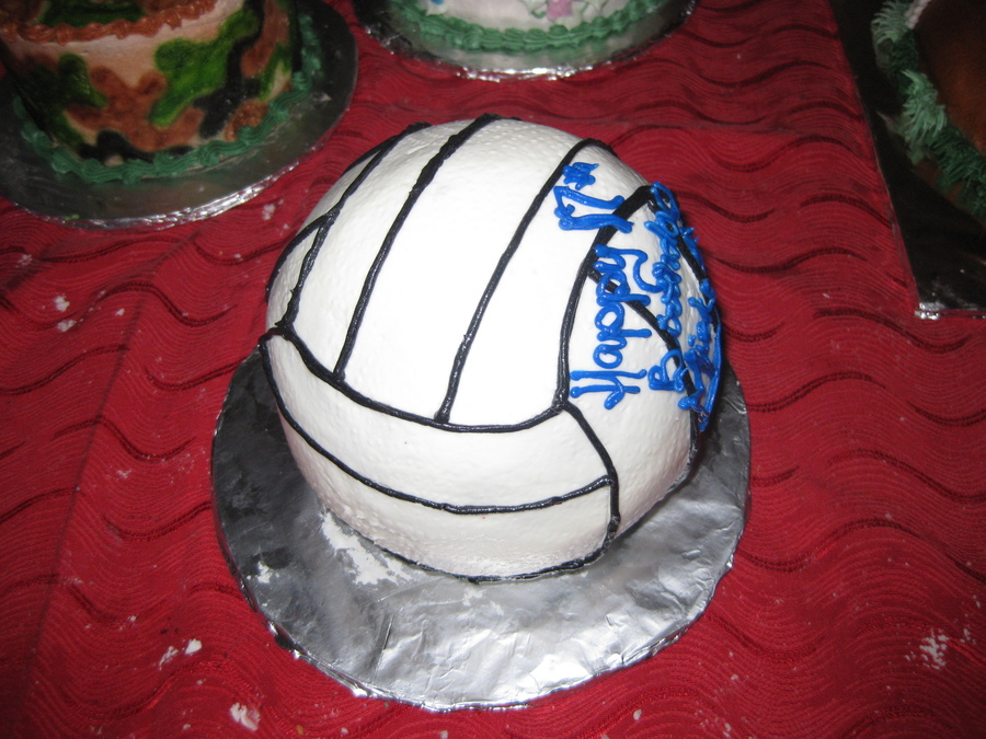 Volleyball Birthday on Cake Central