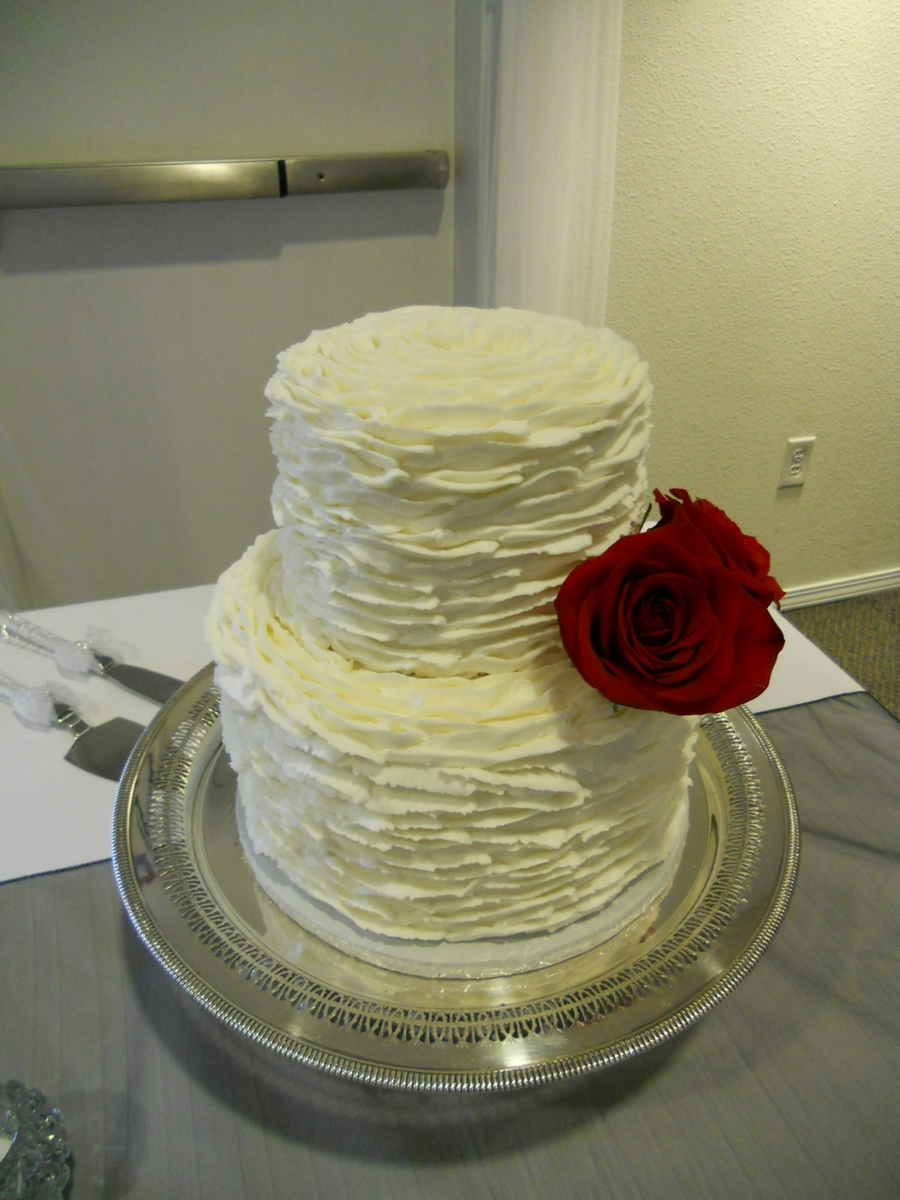 Small Two Tier on Cake Central