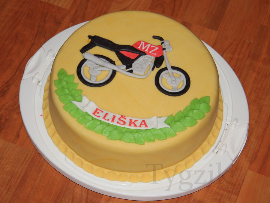 Motocycle on Cake Central