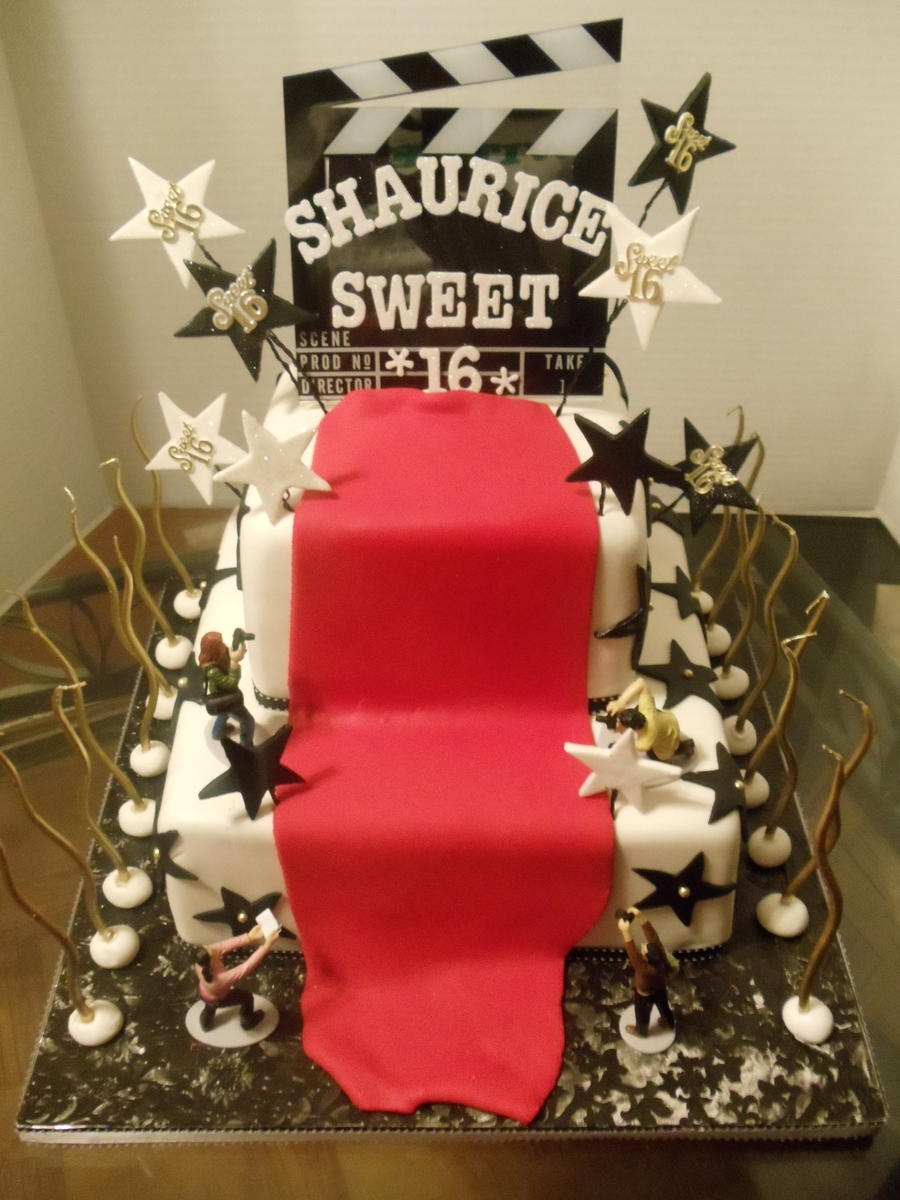 Hollywood Sweet Sixteen Cakecentral Com
