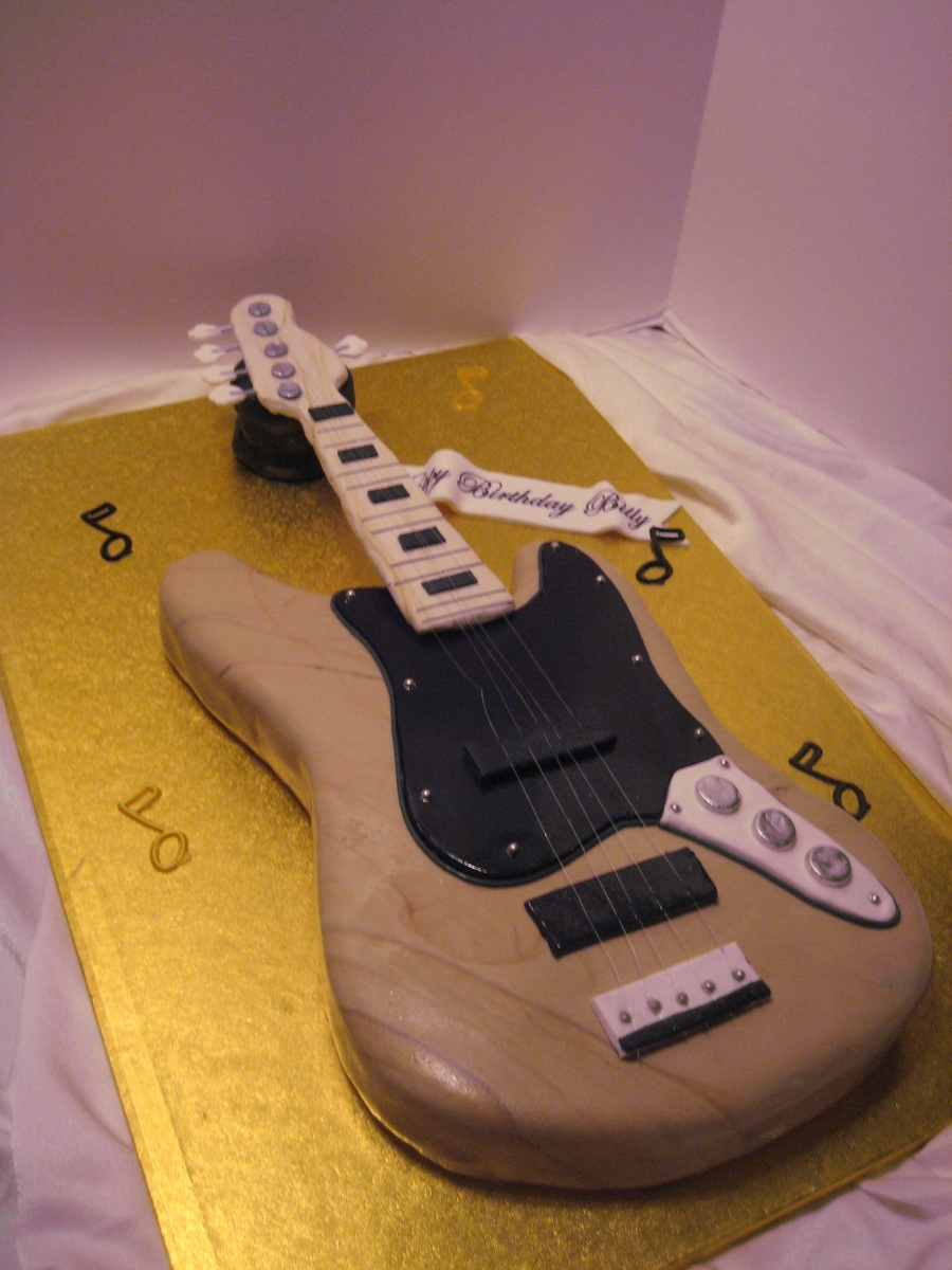 First Guitar Cake on Cake Central