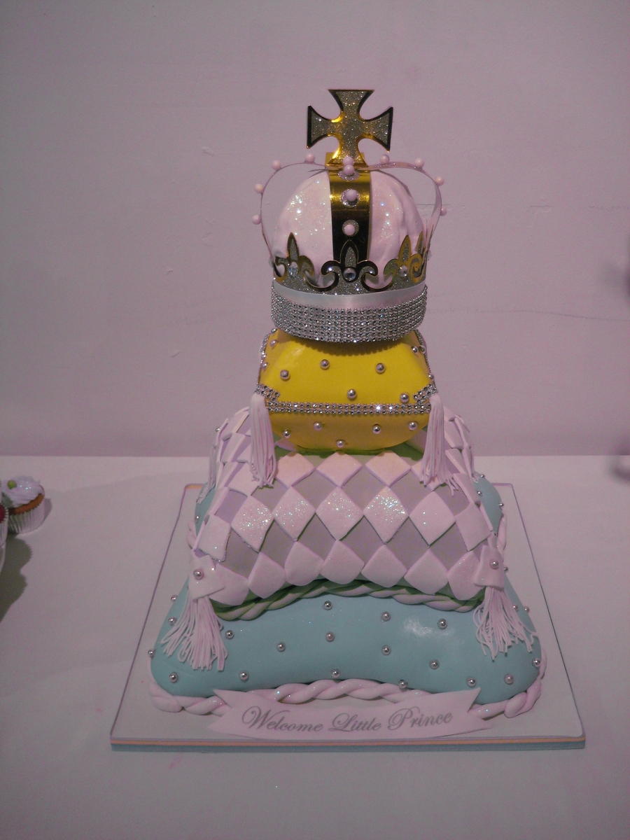 Prince Baby Shower on Cake Central