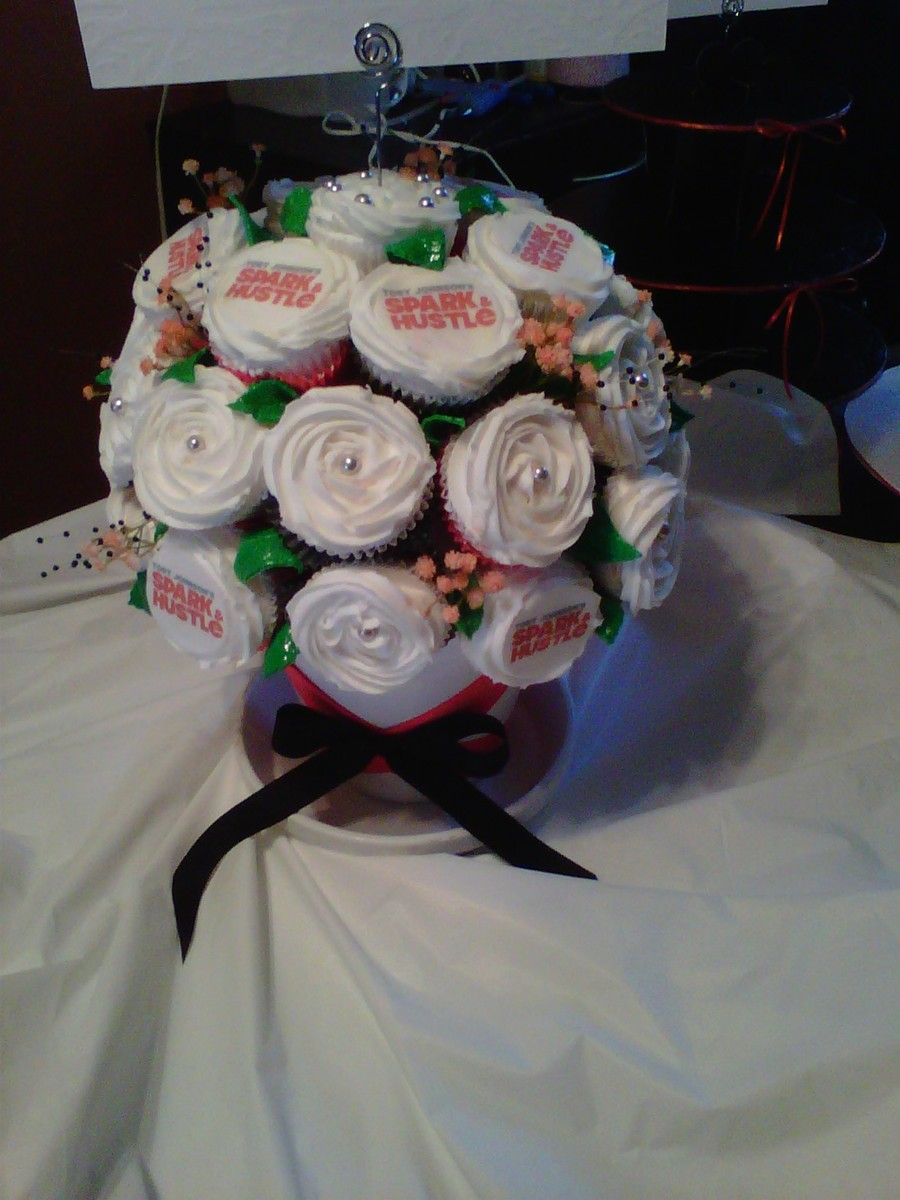 My First Cupcake Bouquet on Cake Central