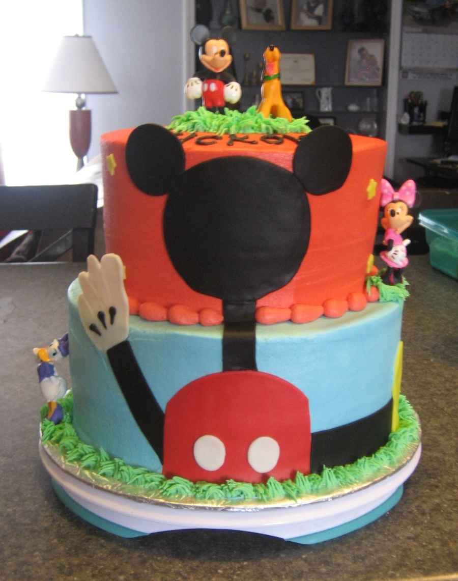 Mickey Tier on Cake Central