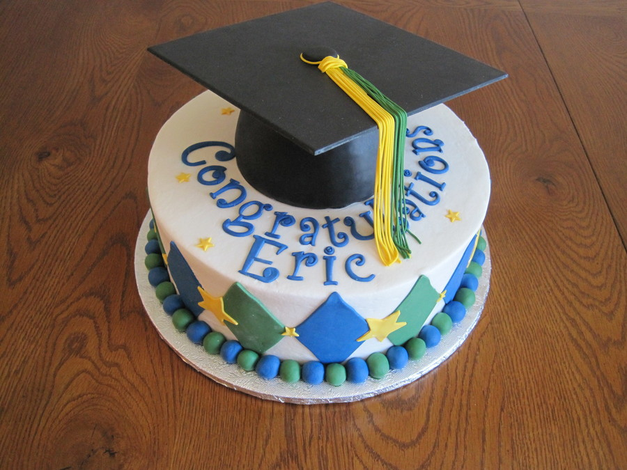 How To Make A Graduation Cap On A Cake