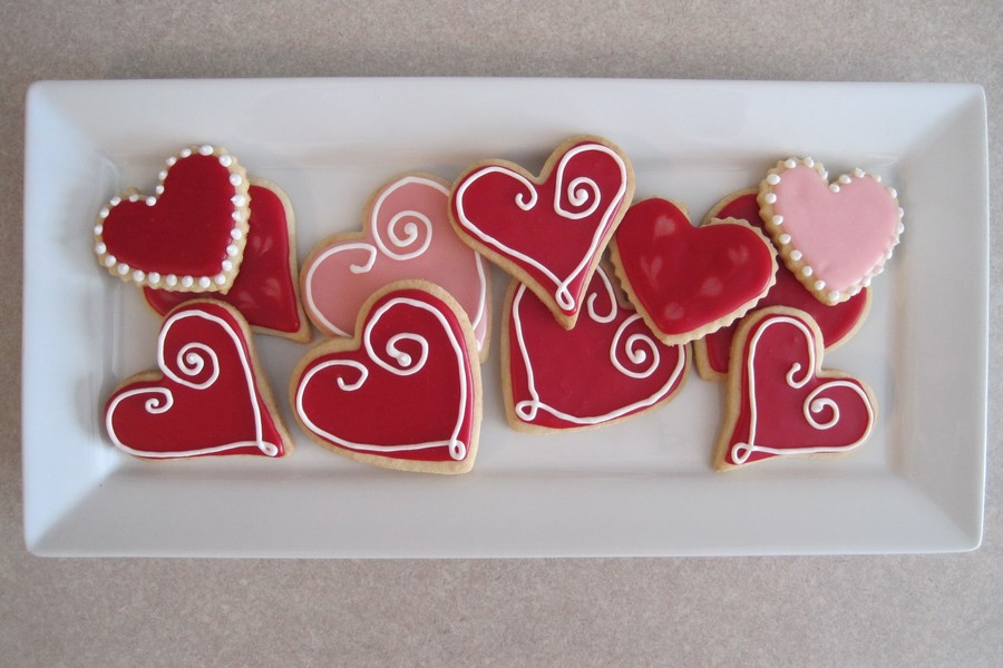 Valentines Day Sugar Cookies on Cake Central