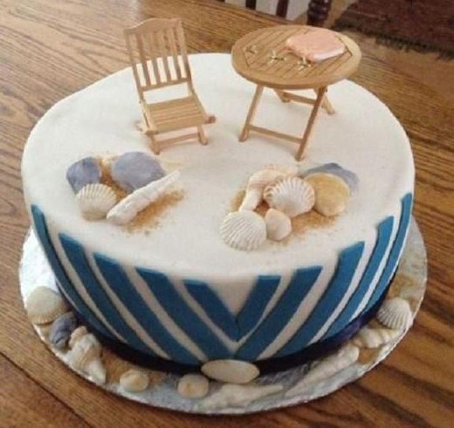 Beach Themed Birthday Cake Cakecentral