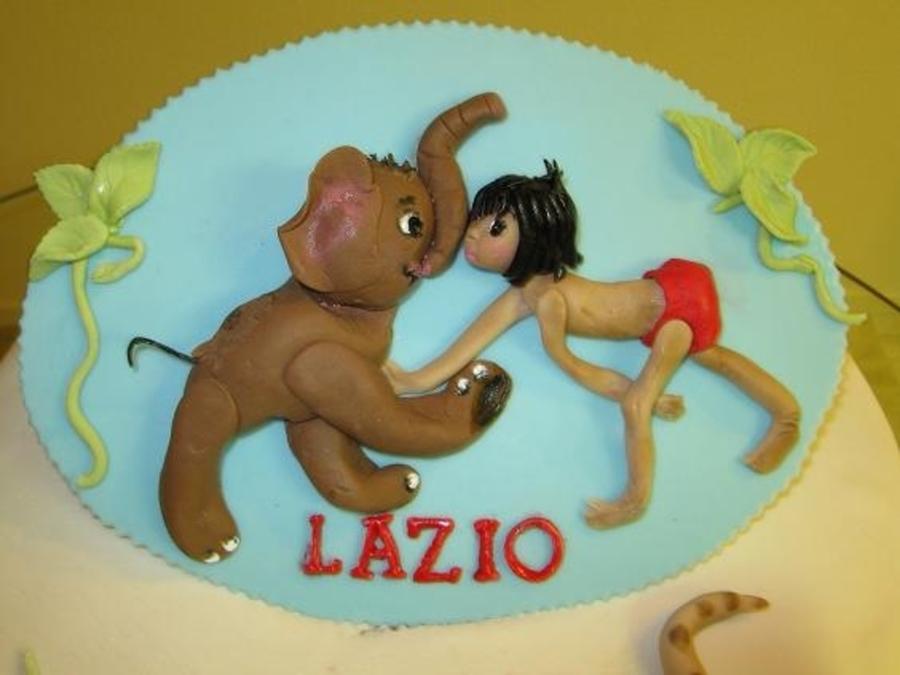 Jungle Book Baby Shower Cake Cakecentral Com