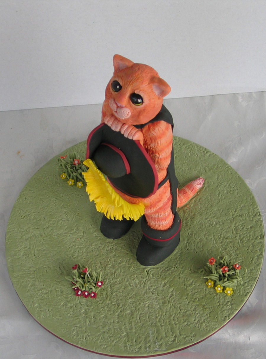 Puss In Boots on Cake Central