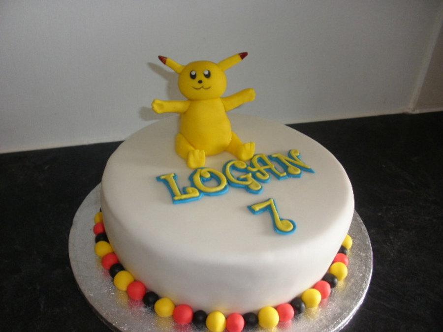 Pikachu Birthday Cake Pikachu Birthday Cake ...