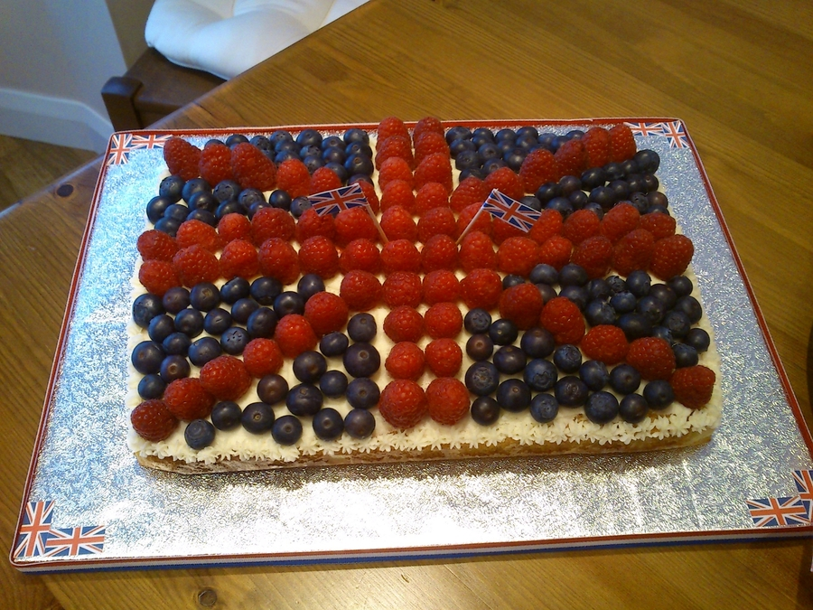 Jubilee Celebration Cake on Cake Central
