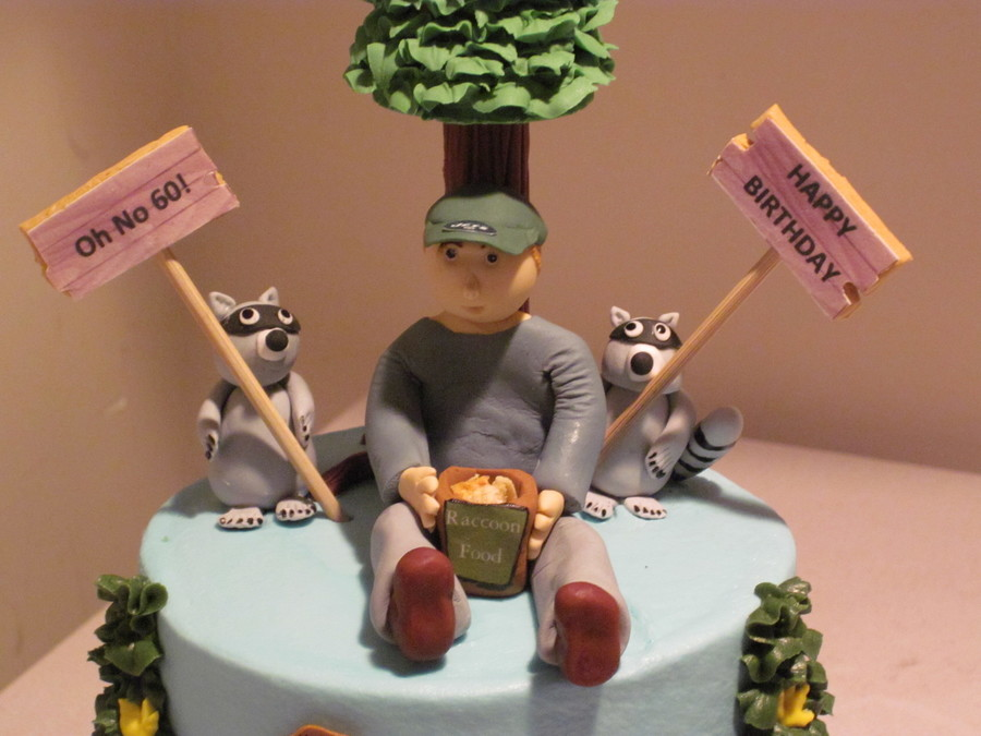 Raccoon Cake Cakecentral Com