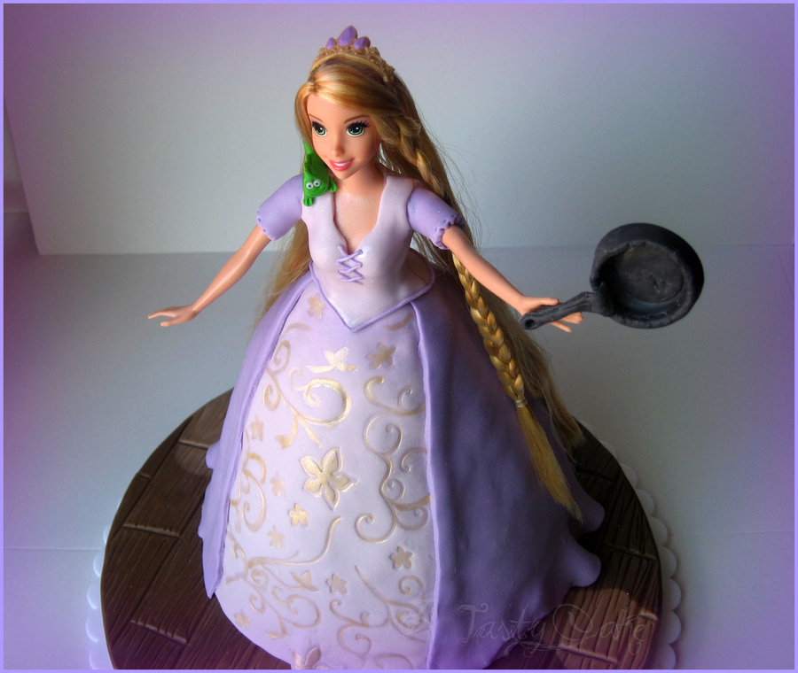 Rapunzel From Movie Tangled on Cake Central